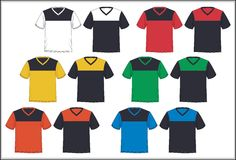 Template t shirt design graphics, vector. Royalty Free Stock Image