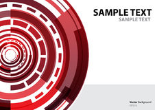 A4 template technology abstract theme. Template annual report brochure flyer design template vector, Leaflet cover presentation abstract background, Technology royalty free illustration