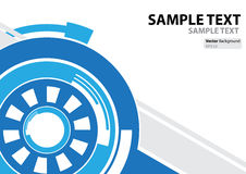 A4 template technology abstract theme royalty free illustration