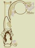 Template vintage designs of menu stock illustration