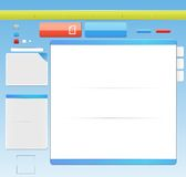 Template web design Stock Images