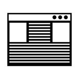 Template webpage isolated icon. Illustration design Royalty Free Stock Photography