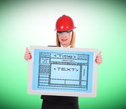 Template  website Stock Images