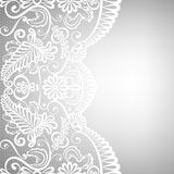 Lace fabric background. Template for wedding, invitation or greeting card with lace fabric background Stock Photo