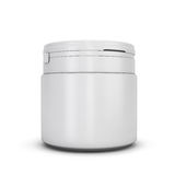 Template white plastic can for products Stock Photos