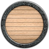 Template of wooden board Royalty Free Stock Image