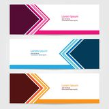 Template for bussines website or advertising Vector abstract design banner web template 4. Template for your bussines website or advertising Vector abstract Stock Photo