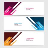 Template for bussines website or advertising Vector abstract design banner web template 7. Template for your bussines website or advertising Vector abstract Stock Photo