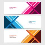 Template for bussines website or advertising Vector abstract design banner web template 6. Template for your bussines website or advertising Vector abstract Royalty Free Illustration