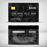 Templates of credit cards design Royalty Free Stock Photography