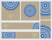 Templates for design. Ethnic pattern. Royalty Free Stock Image