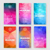 Templates. Design Set of Web, Mail, Brochures Royalty Free Stock Photo