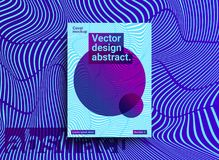 Templates designs with abstract background and trendy vibrant co. Template design with abstract background and trendy vibrant colors. Abstract vector background royalty free illustration