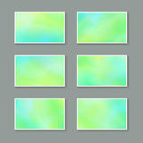 Templates for Greeting Cards royalty free illustration