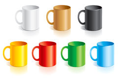 Templates mugs Stock Photo