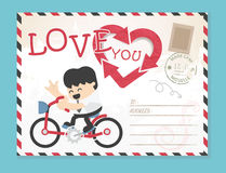 Templates. Wedding  Valentine`s day. Stylish cartoon simple Vect Stock Images