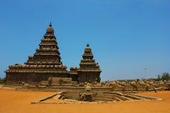 templeâMahabalipuram de la orilla, chennai, la India Fotos de archivo