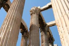 Temple à Athènes Photographie stock