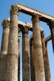 Temple à Athènes Images libres de droits