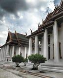 Temple à Bangkok, et pavillon Thaïlande, religion Photos stock