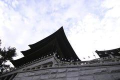 Temple à Busan Corée Images stock