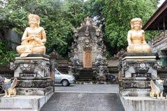 Temple à Denpasar Images libres de droits