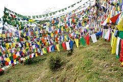 Temple à Dharamsala, McLeod Ganj photo libre de droits