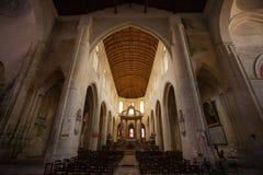 Temple à l'intérieur catholique Photos libres de droits