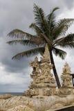 Temple à la plage photographie stock