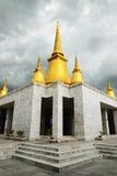 Temple à la province de phutthamonthon Photographie stock