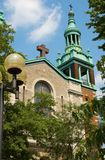 Temple à Montréal Images stock