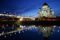 Temple à Moscou Photos stock