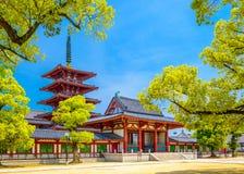 Temple à Osaka image libre de droits