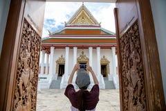 Temple à prier pour le bouddhisme Images stock