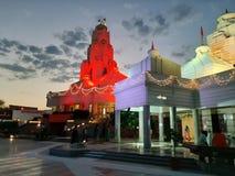 Temple& x27; бог вечера s Бхопала мирный стоковая фотография rf