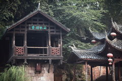Temple. Chinese traditional temple in fenghuang town Stock Photography