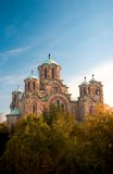 Temple. Eastern European Eastern Orthodox Christian temple royalty free stock photography