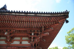 A temple. In To-ji Kyoto royalty free stock images