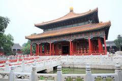 Temple 2 de Kongzi Image stock