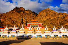 Temple. Nanzong temple at the base of the helan mountain china Royalty Free Stock Images