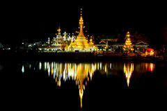 Temple. At the North of thailand Royalty Free Stock Image