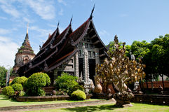 Temple. The art on temple in thailand Stock Photo