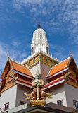 Temple. Thai temple located in Ayutthaya province,Thailand Stock Photography
