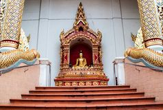 Temple. Beautiful temple in north thailand ,temple in chiang mai Stock Photos