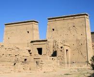 Temple 28 de Philae Photographie stock