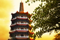 Temple. The Tua Pek Kong Temple in Sibu, Malaysia Stock Images