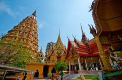Temple. Wat Thum sue a beautiful antique temple in Karnchanaburi, Thailand Stock Photo