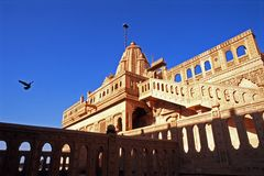 Temple. This is very famous temple which is in Jaisalmer, Rajasthan Royalty Free Stock Images