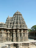 Temple. Kesava Temple, Somanathapur, 13th century Hoysala Architecture Royalty Free Stock Photos