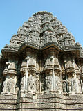 Temple. Kesava Temple, Somanathapur, 13th century Hoysala Architecture Stock Photo